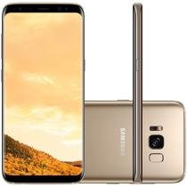 Smartphone Samsung Galaxy S8 64GB Dourado - Dual Chip 4G Câm. 12MP + Selfie 8MP Tela 5.8""