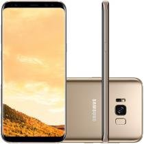 Smartphone Samsung Galaxy S8+ 64GB Dourado - Dual Chip 4G Câm. 12MP + Selfie 8MP Tela 6.2""