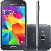 "Smartphone Samsung Galaxy Win 2 Duos Dual Chip 4G - Android 4.4 Câm. 5MP Tela 4.5"" Proc. Quad Core"