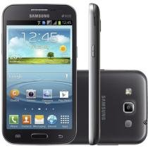 "Smartphone Samsung Galaxy Win Duos 8GB Dual Chip - 3G Câm. 5MP Tela 4.7"" Proc. Quad Core Android 4.1"