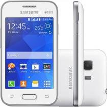 "Smartphone Samsung Galaxy Young 2 Duos TV - Dual Chip 3G Câm. 3MP Tela 3.5"" Desbl. Oi"
