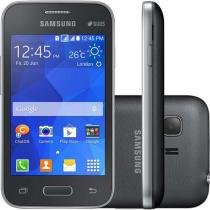 "Smartphone Samsung Galaxy Young 2 Pro Dual Chip - 3G Câm. 3MP Tela 3.5"" Proc. Dual Core Desbl. Tim"