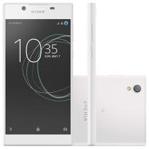 Smartphone Sony Xperia L1 Dual 16GB Branco - Dual Chip 4G Câm. 13MP + Selfie 5MP Tela 5.5""