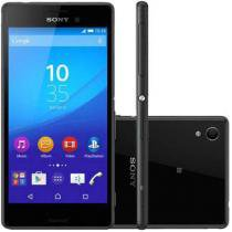 "Smartphone Sony Xperia M4 Aqua 16GB Dual Chip 4G - Câm. 13MP + Selfie 5MP Tela 5"" Proc. Octa Core"
