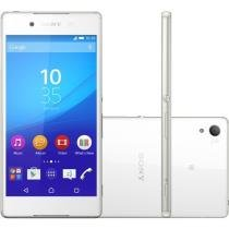 "Smartphone Sony Xperia Z3+ 32GB Branco Dual Chip - 4G Câm. 20.7MP + Selfie 5MP Tela 5.2"" Full HD"
