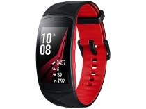 "SmartWatch Samsung Gear Fit2 Pro Pulseira Grande - Display 1,5"" 4GB Processador Dual Core"