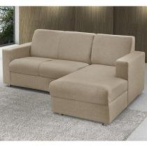 Sofá Chaise 2 Lugares Chenille Roma - American Comfort