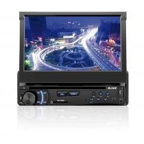 Som Automotivo DVD Player Multilaser Blade Tela 7 Retrátil USB e SD - P3295 - Neutro - Multilaser