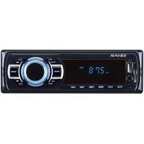Som Automotivo Naveg NVS 3068 Tela 2,4 - MP3 Player Rádio FM Entrada USB SD Auxiliar