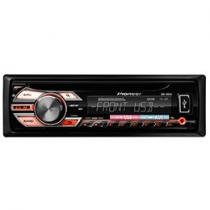 Som Automotivo Pioneer DEH-1580UB Entrada USB