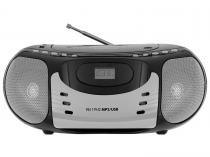 Som Portátil Philco FM 5W CD Player - Display Digital PB119N2 Entrada USB MP3 Player