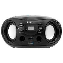 Som Portátil Philco FM 6W Display Digital - PB122BT Bluetooth Entrada USB MP3 Player