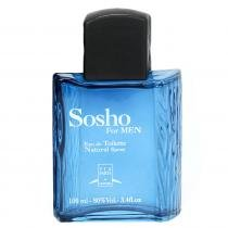 Sosho For Men Eau de Toilette Via Paris - 100ml - Perfume Masculino