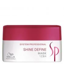 SP Shine Define Mask Wella - 200ml - Máscara Iluminadora