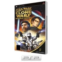 Star Wars: The Clone Wars - Republic Heroes - para PSP - LucasArts