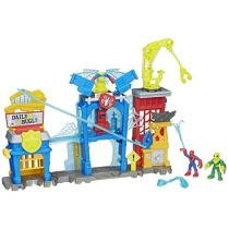 Super Hero Adventures Esconderijo do Spider-Man - Playskool Heroes Marvel Hasbro