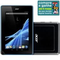"Tablet Acer Iconia B1-A71 Android 4.1 Wi-Fi - Bluetooth 4.0 16GB Tela 7"" c/ Conexão Micro USB"