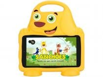 Tablet DL Drop Kids Plus 8GB 7 Wi-Fi Android - Proc. Quad Core Câmera Integrada