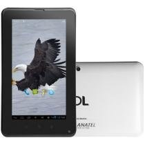 Tablet DL Mobile Plus 3G Android 4.0 8GB Tela 7 - Multi Touch Wi-Fi Processador A10 Cortex A8