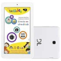 Tablet DL Tab Kids 8GB Tela 7 Wi-Fi Android 5.1 - Proc. Quad-Core Câm. 2MP + Frontal 0.3MP