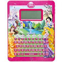 Tablet Infantil Smart Pad Princesas 76 Atividades - Yellow