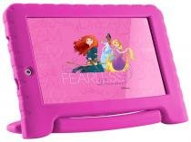 Tablet Multilaser Disney Princesas Plus 8GB 7  - Wi-Fi Android 7.0 Proc. Quad Core Câmera Integrada