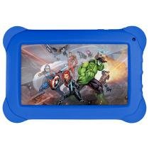 Tablet Multilaser Disney Vingadores 8GB 7 Wi-Fi - Android Quad Core Câm. 2MP + Frontal