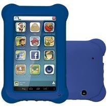 Tablet Multilaser Kid Pad 8GB 7 Wi-Fi - Android 4.4 Proc. Quad Core Câmera Integrada