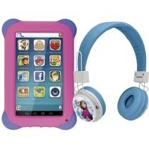 Tablet Multilaser Kid Pad 8GB Tela 7 3G Wi-Fi - Android 4.4 + Headphone/Fone de Ouvido