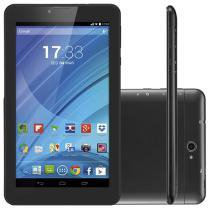 Tablet Multilaser M7 8GB 7 3G Wi-Fi Android - Proc. Quad Core Câmera Integrada
