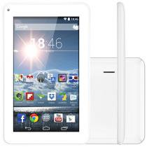 Tablet Multilaser M7S 8GB Tela 7 Wi-Fi - Android 4.2 Processador Dual Core C��mera 1.3MP