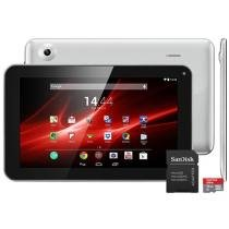Tablet Multilaser M9 8GB Tela 9 Wi-Fi - Android 4.4 Proc. Dual Core Câm. 2MP + Cartão 1GB