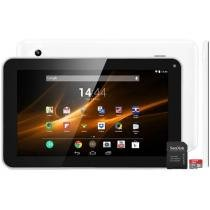 Tablet Multilaser M9 8GB Tela 9 Wi-Fi - Android 4.4 Proc. Quad Core Câm. 2MP + Cartão 8GB
