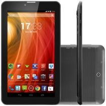 Tablet Multilaser NB217 8GB Tela 7 3G Wi-Fi - Android 4.4 Proc. Dual Core C��m. 2MP + Frontal
