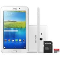 Tablet Samsung Galaxy E 7.0 8GB Tela 7 3G Wi-Fi - Android 4.4 Proc. ARM Cortex A7 + Cartão 16GB