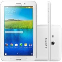Tablet Samsung Galaxy E 8GB Tela 7 3G Wi-Fi - Android 4.4 Quad-Core Câm. 2MP GPS Função Celular