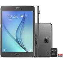 Tablet Samsung Galaxy Tab A 8.0 16GB Tela 8 4G - Wi-Fi Android 5.0 Proc. Quad Core + Cartão 32GB