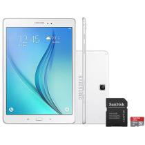 Tablet Samsung Galaxy Tab A 9.7 16GB Tela 9,7 4G - Wi-Fi Android 5.0 Proc. Quad-Core + Cartão 16GB