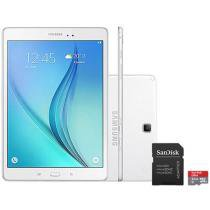 Tablet Samsung Galaxy Tab A 9.7 16GB Tela 9,7 4G - Wi-Fi Android 5.0 Proc. Quad Core + Cartão 32GB