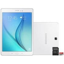 Tablet Samsung Galaxy Tab A 9.7 16GB Tela 9,7 - Wi-Fi Android 5.0 Proc. Quad Core + Cartão 16GB