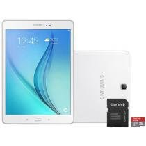 Tablet Samsung Galaxy Tab A 9.7 16GB Tela 9,7 - Wi-Fi Android 5.0 Proc. Quad Core + Cartão 32GB