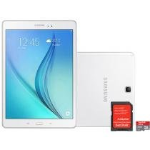 Tablet Samsung Galaxy Tab A 9.7 16GB Tela 9,7 - Wi-Fi Android 5.0 Proc. Quad Core + Cartão 8GB