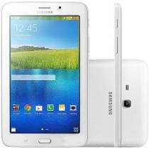 Tablet Samsung Galaxy Tab E 8GB Tela 7 Wi-Fi - Android 4.4 Proc. Quad Core Câmera Integrada