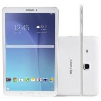 Tablet Samsung Galaxy Tab E 8GB Tela 9.6 Wi-Fi - Android 4.4 Quad-Core Câm. 5MP + Frontal 2MP GPS