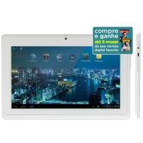 Tablet SpaceBR 551397 4GB Tela 7 Wi-Fi - Android 4.0 Processador A13 1.2GHz C��mera 0.3MP