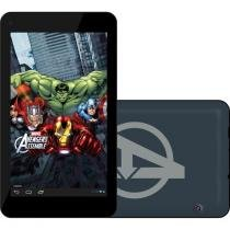 Tablet Tectoy Avengers 8GB Tela 7 Wi-Fi Android - Proc. Quad Core Câmera 2MP + Frontal