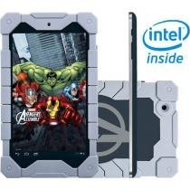 Tablet Tectoy Avengers Assemble 8GB Tela 7 Wi-Fi - Android 4.2 Proc. Intel Atom Dual Core C��m. 2MP