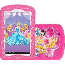 Tablet Tectoy Princesas 2 8GB Tela 7 Wi-Fi - Android 4.2 Proc. Dual Core Câm. 2MP + Frontal