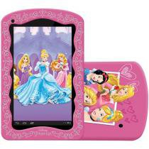 Tablet Tectoy Princesas 8GB Tela 7 Wi-Fi Android - Proc. Quad Core C��mera 2MP + Frontal