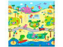 Tapete Infantil Play Mat Dino Sports 1 Peça - 17x17cm Dupla Face Safety 1st